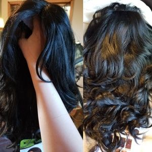 Chocolate Glam Lace Front Wig